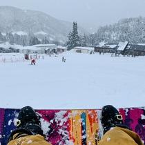 スノーボード初体験